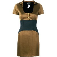 Jean Paul Gaultier Vintage empire line short dress - ブラウン