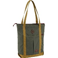 BURTON NS Zip Crate Tote [19L] 2018FW Forest Night Ripstop