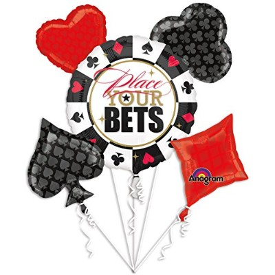 Ballooney's ~ Place Your Bets Bouquet Of Balloons by Anagram