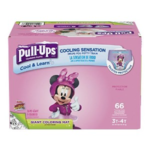 Pull-Ups Cool & Learn Training Pants for Girls, 3T-4T, 66 Count by Pull-Ups