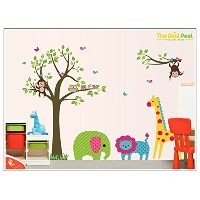 The Real Peel Premium Removable Wall Stickers for Kids Rooms, Nursery, Baby, Boys & Girls Bedroom -...