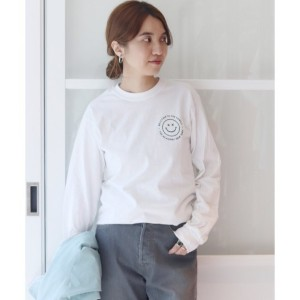 THE ACADEMY NEWYORK WELCOME TO THE FAMIL◆【スピック&スパン/Spick & Span レディス Tシャツ・カットソー ホワイト ルミネ LUMINE】
