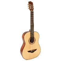 H. Jimenez LG1 Voz Fuerte ナイロンストリング アコースティックギター with Spruce Top and Padded ギグバッグ ギターケース - Natural...