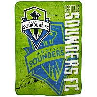 The Northwest Company MLS Seattle Sounders Concrete Micro Raschel Throw, 46-Inch by 60-Inch by...