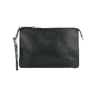 Il Bisonte pouch clutch bag - ブラック