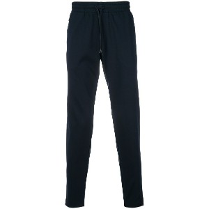 Emporio Armani tapered track pants - ブルー