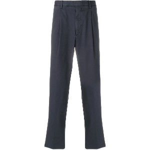 Ermenegildo Zegna tailored fitted trousers - グレー