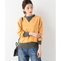 【Levi's Vintage Clothing】 BAY MEADOWS:スウェット【ジャーナルスタンダード/JOURNAL STANDARD レディス Tシャツ・カットソー イエロー ルミネ...