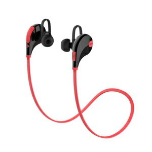 QCY-QY7RE QCY Bluetooth4.1対応ワイヤレスイヤホン(レッド) QCY [QCYQY7RE]【返品種別A】
