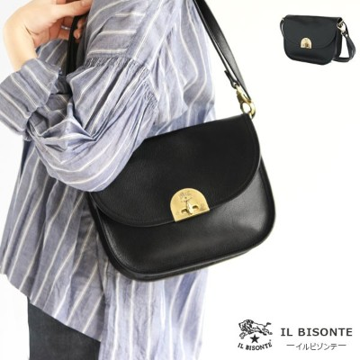 IL BISONTE(イルビゾンテ)ショルダーバッグ ポーチ付き(54182300111)2018SS NEW COLLECTION