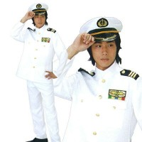 SMART 艦長[艦長衣装 艦長コスプレ コスチューム 仮装 変装]【A-0570_013961】