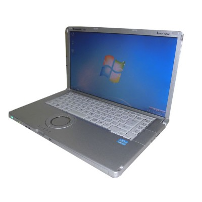 中古パソコン ノート Windows7 Panasonic Let'sNote CF-B11 (CF-B10PWYYS) Core i3-2310M 2.1GHz 4GB SSD 256GB...