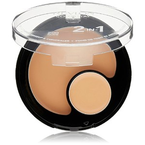 Revlon Colorstay 2 in 1 Natural Tan Compact Makeup and Concealer -- 2 per case. by Revlon