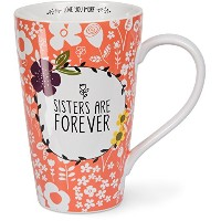Love You More by Amylee週間54206Latte Mug Cup、ホワイト