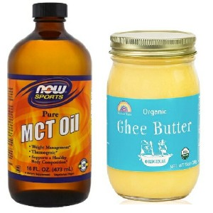 Rainbow Farms Organic Ghee Butter & Now MCT Oil 16oz オーガニック ギーバター MCT Oil セット