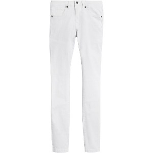 Burberry Skinny Fit Low-Rise White Jeans - ホワイト