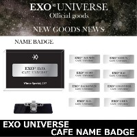 ☆送料無料☆EXO Universe Cafe NAME BADGE「SUM」