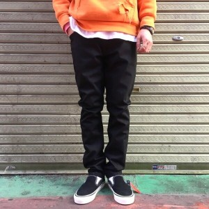 Nudie Jeans / LEAN DEAN DRY COLD BLACK ヌーディージーンズ リーンディーン ブラック