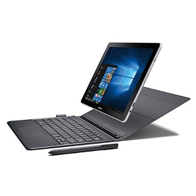 "Samsung Galaxy Book 10.6"" Windows 2-in-1 PC (Wi-Fi) Silver, 4GB RAM/64GB storage, SM-W620NZKBXAR"