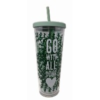 Starbucks Venti Go With All Your Love 2017Cold Cup Tumbler 24oz