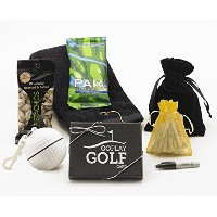Go Play Golf Essentials i-50ギフトバスケットfor Men and Women