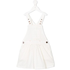 American Outfitters Kids dungaree dress - ホワイト