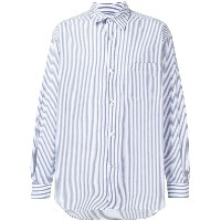 Our Legacy striped formal shirt - ブルー