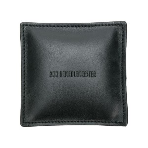 Ann Demeulemeester embossed logo paper weight - ブラック