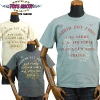 TOYS McCOYトイズマッコイ MILITARYミリタリーTシャツFOURTH BUT FIRST「CHIEFS」TMC1827