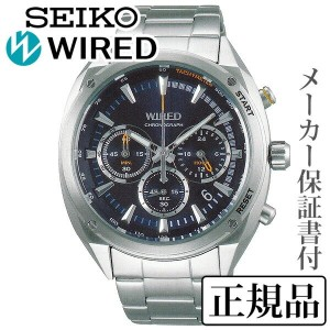 SEIKO ワイアード WIRED SOLIDITY ソリディティ 男性用 多針アナログ 腕時計 正規品 1年保証書付 AGAW445