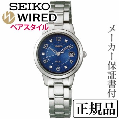 SEIKO ワイアード WIRED PAIR STYLE ペアスタイル 女性用 アナログ 腕時計 正規品 1年保証書付 AGED081