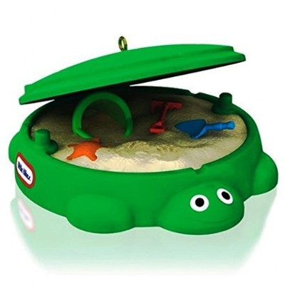 Hallmark 2014 Classic Turtle Sandbox Little Tikes Ornament