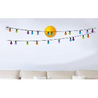 Dream Wall Decal, Colorful Bulbs by wall dream