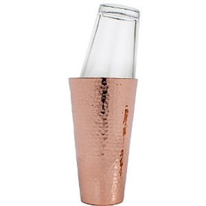 Professional Hammered CopperボストンスタイルCocktail Shaker