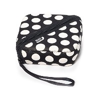 BUILT NY Bento Sandwich Container with Neoprene Sleeve, Big Dot Black and White by Built NY