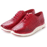 【SALE 70%OFF】コール ハーン COLE HAAN ZEROGRAND HRCH OXFRD (RED LEATH) レディース