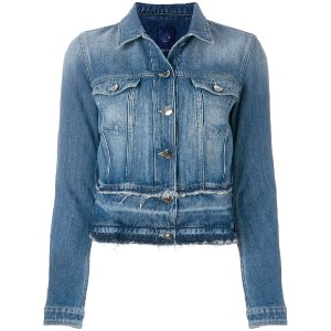 Jacob Cohen fitted denim jacket - ブルー
