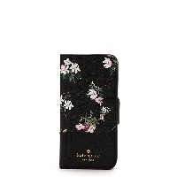 kate spade new york/ケイト・スペード  IPHONE CASES FLORA WRAP FOLIO-8(8ARU2577) BLK MULTI(002) 【三越・伊勢丹/公式】...