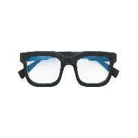 Kuboraum square frame glasses - ブラック
