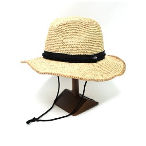 THE NORTH FACE RAFFIA HAT【NN01554-NB-NATURAL】