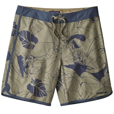 patagonia パタゴニア Ms Scallop Hem Stretch Wavefarer Boardshorts 18 in./VFSH/32 86731男性用 グレー
