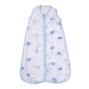 aden by aden + anais Wearable Blanket, Jungle Jive - Elephant, Small by aden + anais