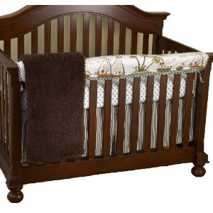 Cotton Tale Designs Front Crib Rail Cover Up Set, Aye Matie by Cotton Tale Designs
