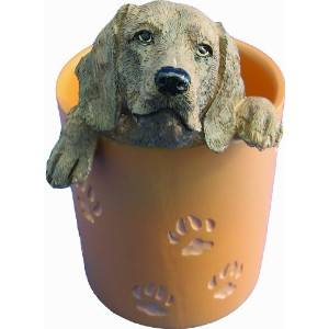 Weimaraner Pen/Pencil Holder by E&S Pets