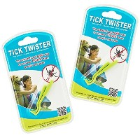 Tick Twister Tick Remover Set with Small and Large (Pack of 2 Sets) by Tick Twister [並行輸入品]