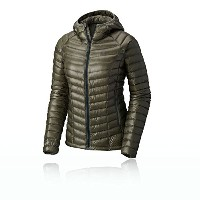 Mountain Hardwear Ghost Whisperer Down Hooded Jacket – Women 's US サイズ: L カラー: グリーン