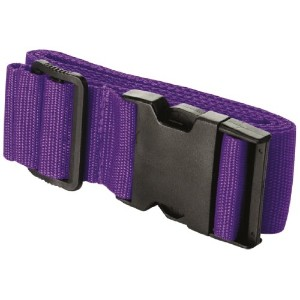 Travel Smart by Conair Luggage Strap Suitcase Belt Travel Accessories, Purple by Travel Smart