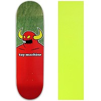 Toy MachineスケートボードデッキMonster ( AST CLRS ) 8.125 with griptape