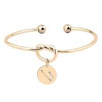 wusuaned Love Knot Bangle with Cut Outのホロスコープ星ブレスレットブライズメイド提案ギフト