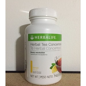 新しいHerbalife Herbal Tea Concentrate 3.53oz-3.6oz ( 5 Flavor Choice ) イエロー